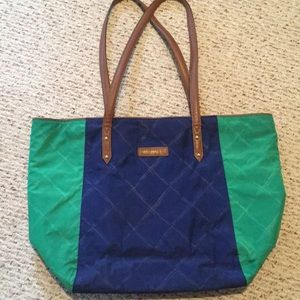 Preppy Poly Large Tote